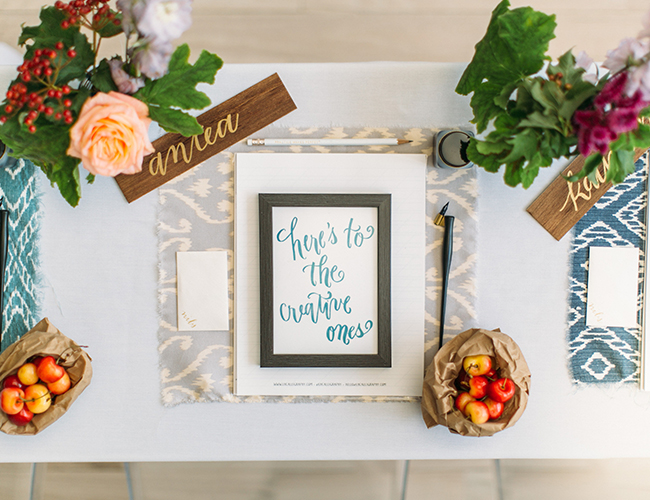 Boston Calligraphy Workshop from Laura Hooper - Lifestyle Blog