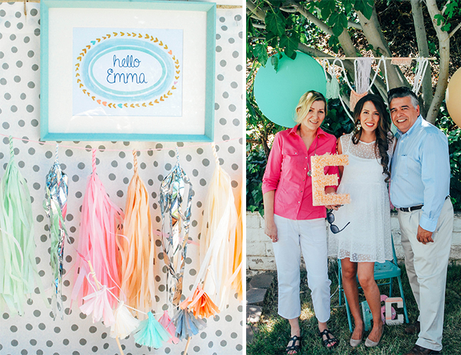 Pastels and Polka Dots Baby Shower - Baby Blog