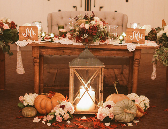 Fall Wedding at Strawberry Farms from Brandon Kidd - Wedding Blog