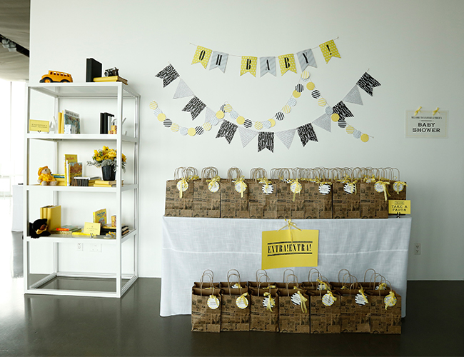 Savannah Guthrie's News Themed Baby Shower by Minted - Baby Blog