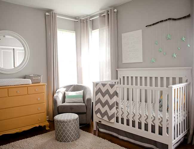 Grey And Yellow Nursery Inspiration Baby Blog Inspired
