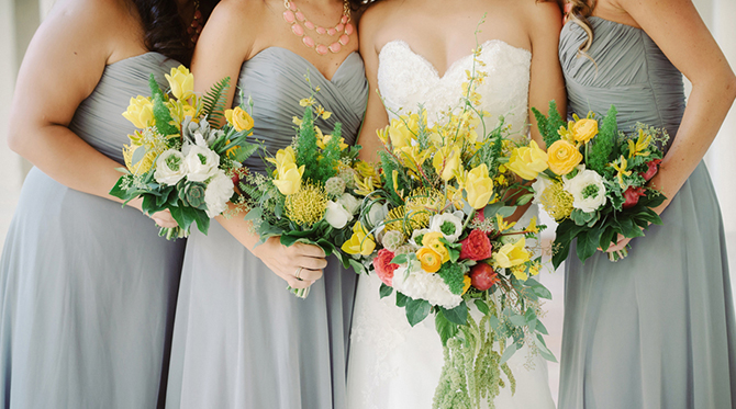 Yellow and Grey Fall Wedding - Wedding Blog