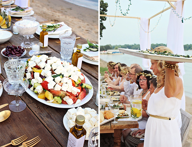 Grecian Dinner Party - Lifestyle Blog