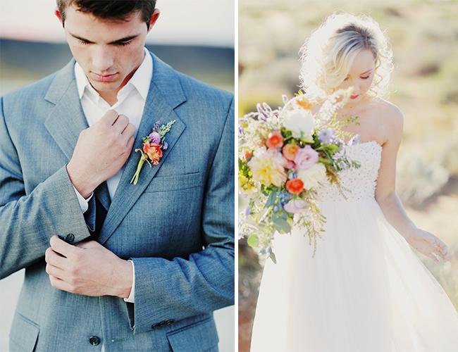 Vintage Beach Wedding Inspiration - Wedding Blog