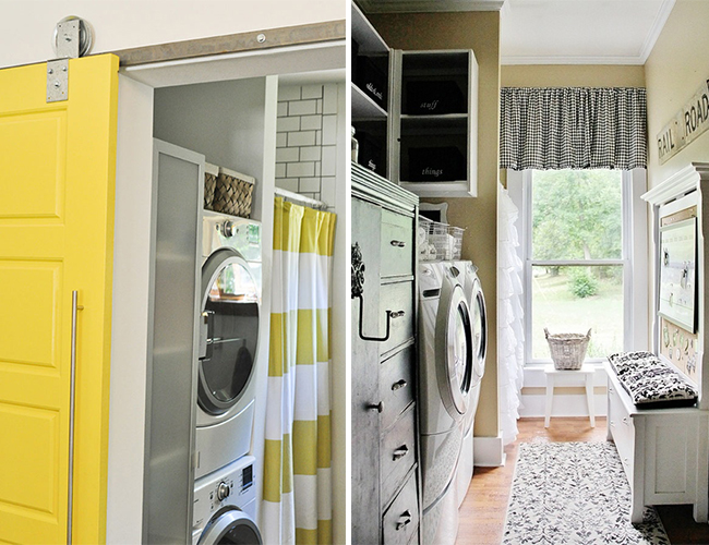 Laundry Rooms We Love - Lifestyle Blog