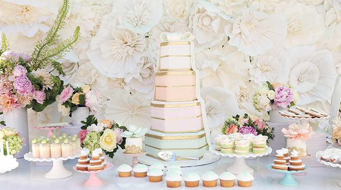 Pastel Bridal Shower