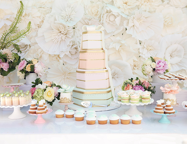 Pretty Pastel Bridal Shower Inspired By This