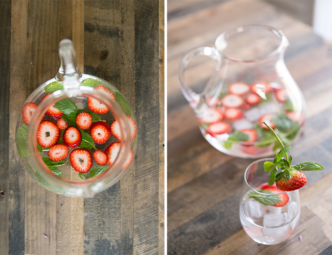 Strawberry Infused Water