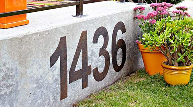Address Displays
