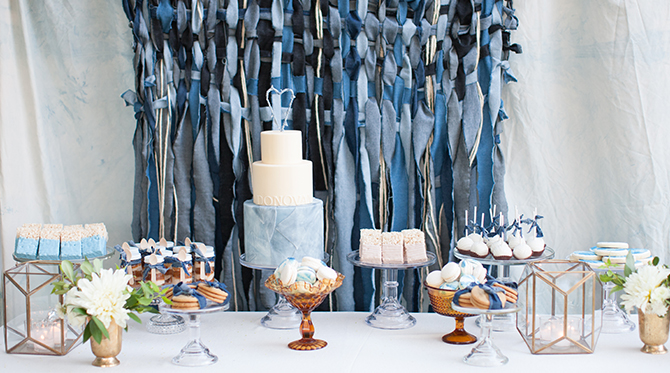 Melody Brandon S Blue Jeans Baby Shower Inspired By This