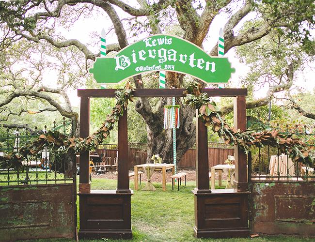 Oktoberfest Backyard Party