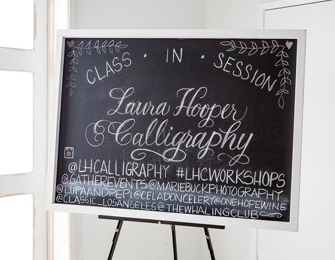 Calligraphy Workshop