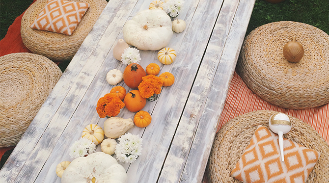 Fall Harvest Birthday Party