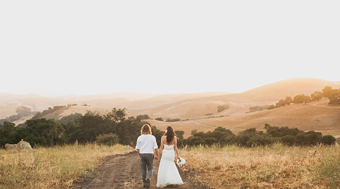 Santa Barbara Meadow Wedding