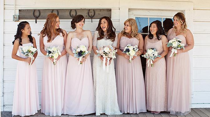 Blush Barn Wedding