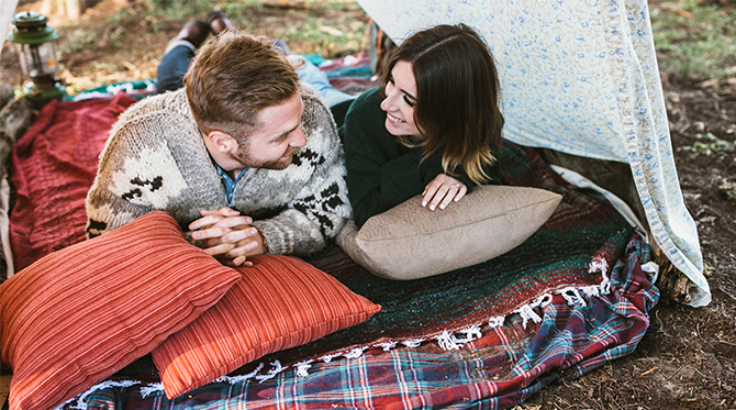 Camping Forest Engagement