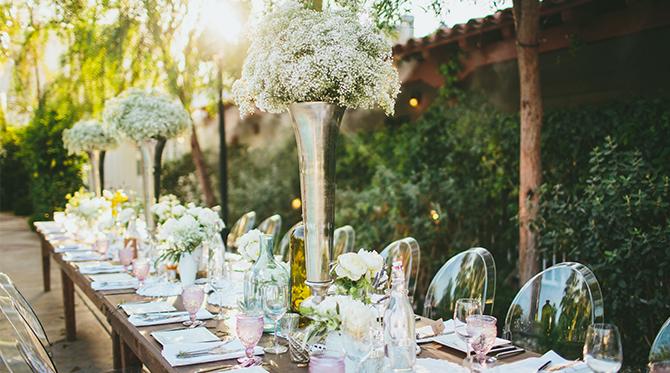 Mediterranean Palm Springs Wedding