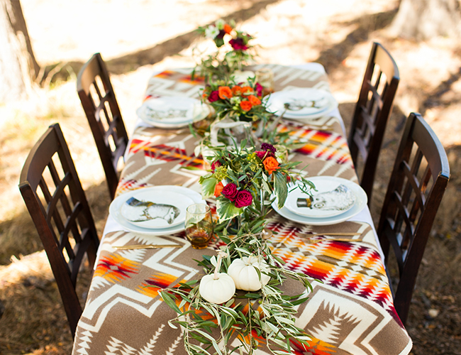 Woodland Fall Harvest Party