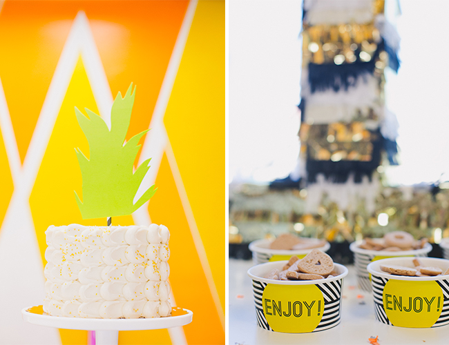 Foxes & Pineapple First Birthday