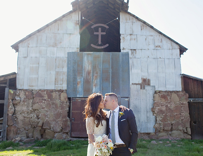 Blush Barn Wedding