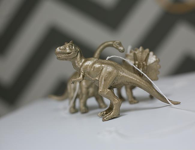 Nursery DIY: Dino Mobile