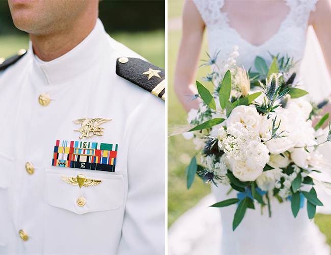 Hillside Military Wedding