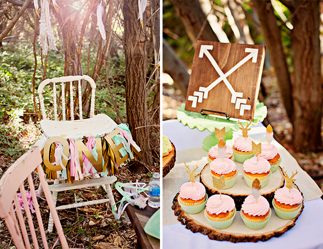 Dreamy Woodland First Birthday