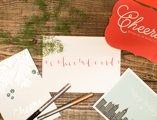 Holiday Cards & Cakes with Minted Stationery