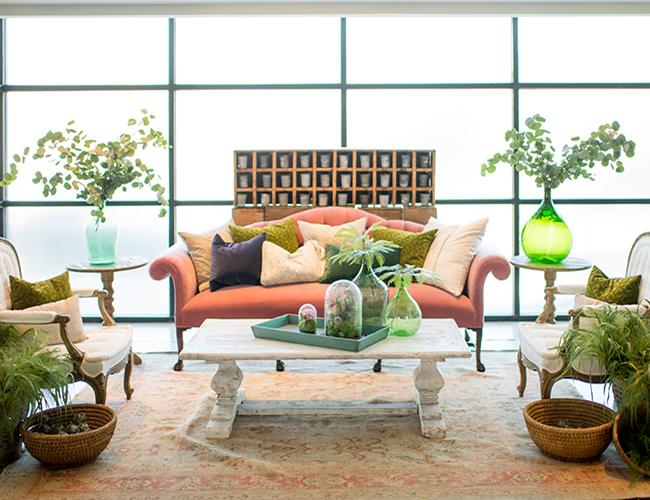 vintage home decor with viyet