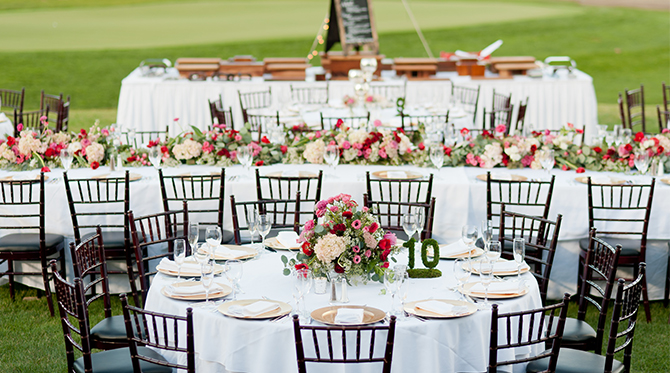 Elegant Outdoor Michigan Wedding