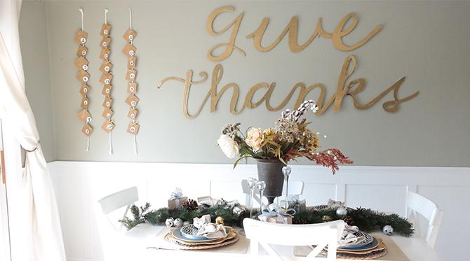 DIY Advent Calendar and a Festive Holiday Home