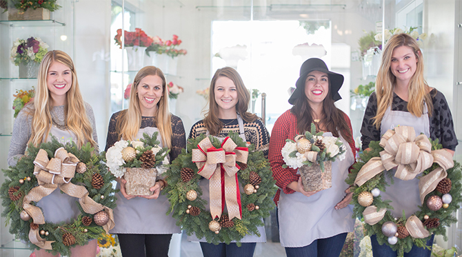 Crafting Holiday Flower Arrangements with Fleurish