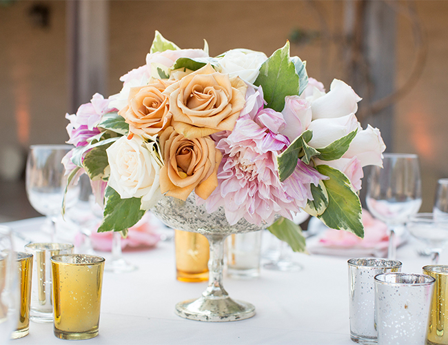Peach Garden Wedding