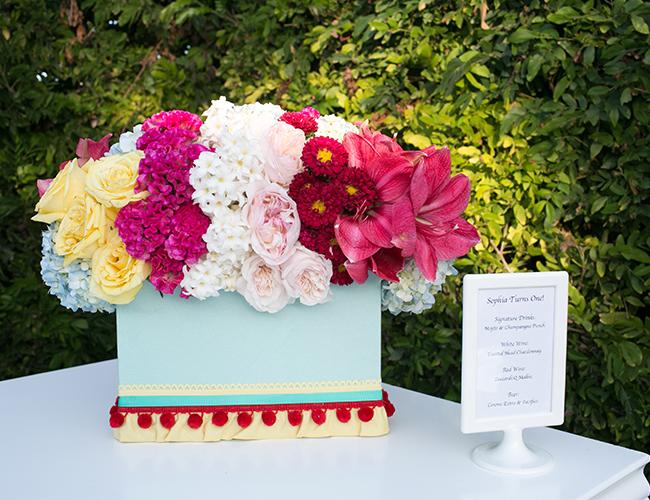 Bright Garden First Birthday Party
