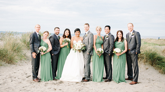 Winter Beach Wedding