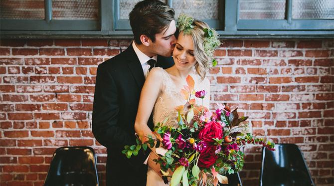 Portland Urban Wedding Inspiration