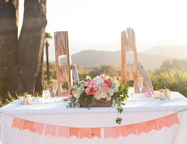 Desert Ranch Wedding