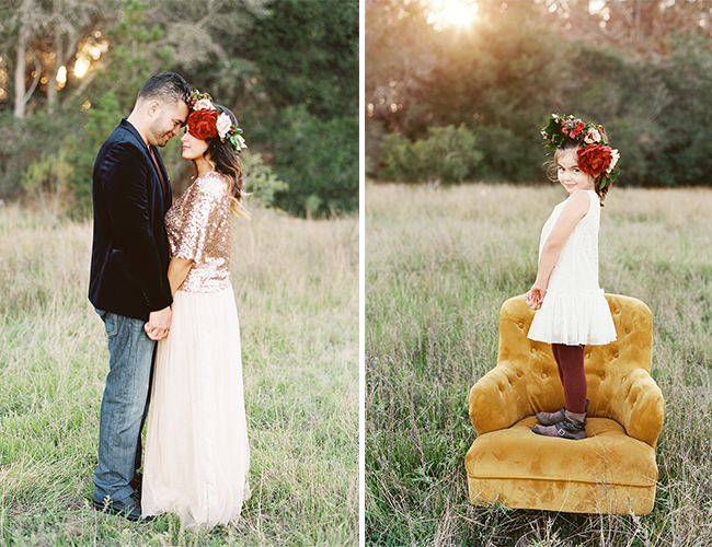 Red & Gold Family Shoot
