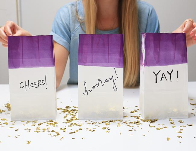 DIY Confetti Bags for Your Wedding