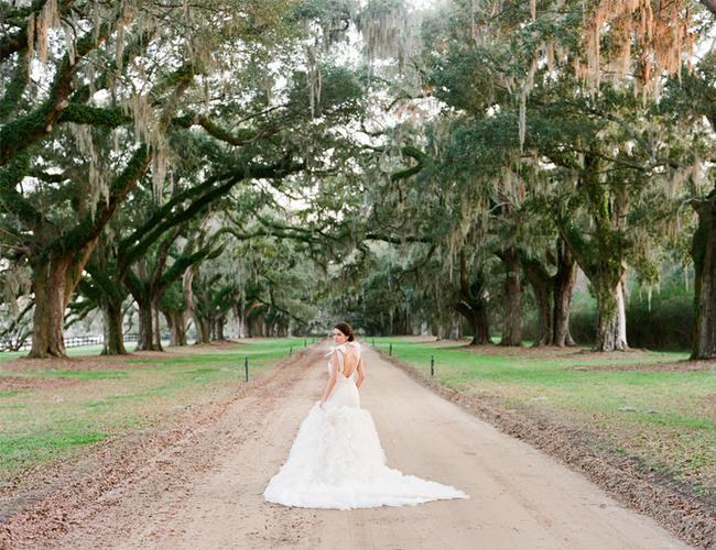 Mint & Blush Charleston Wedding