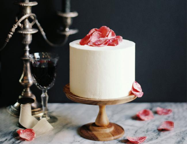 DIY Sugared Rose Petals