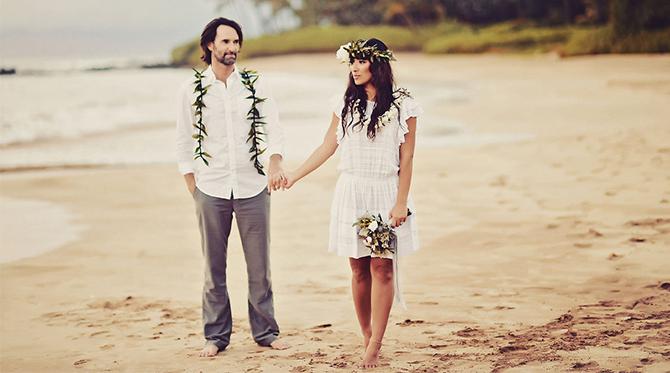 Bohemian Hawaiian Vow Renewal