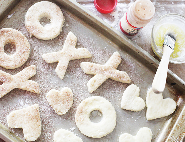 XOXO Doughnut Recipe