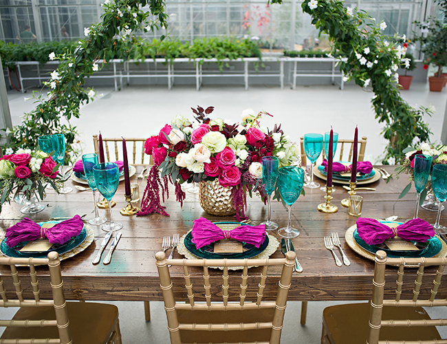 Greenhouse Dinner Party