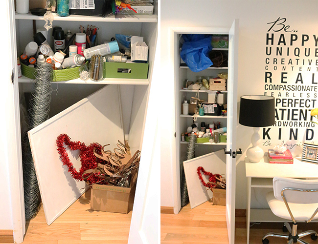 DIY Closet Makeover: Before & After