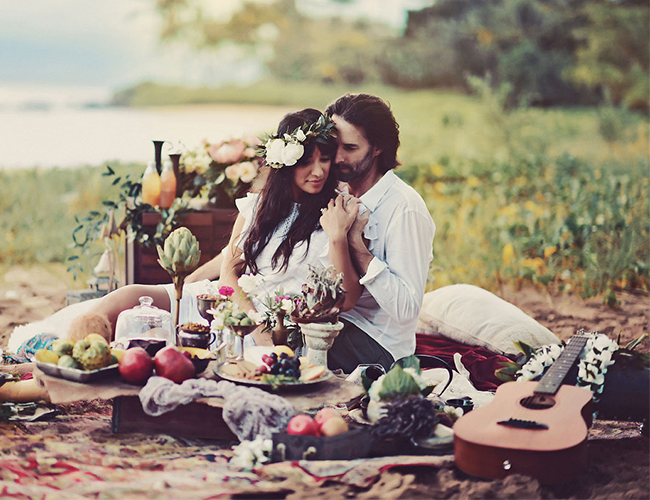 Bohemian Hawaiian Vow Renewal