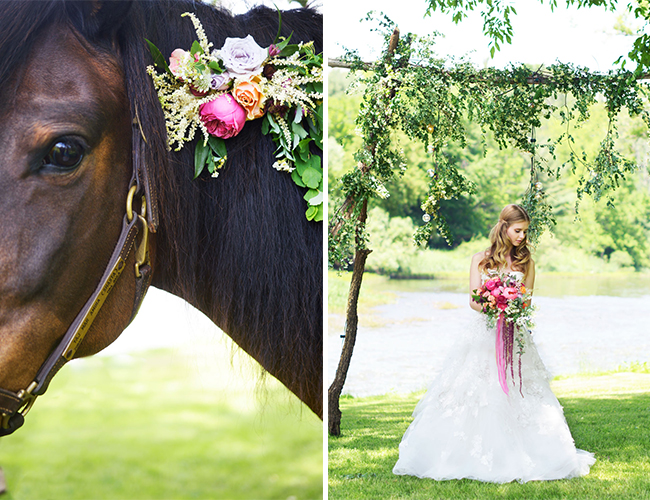 Tangerine & Magenta Wedding Inspiration
