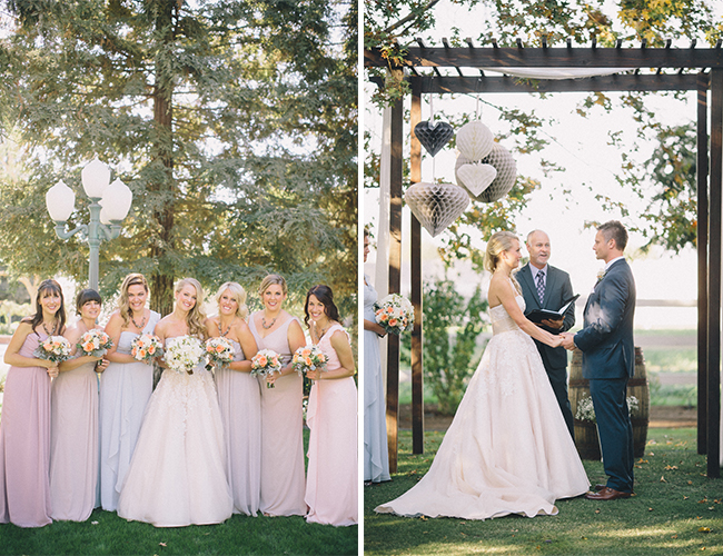 Rustic Blush Wedding