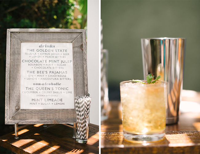 Masculine Modern Cocktail Party