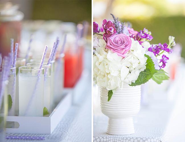 Lavender Vineyard Wedding